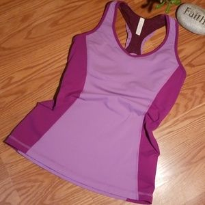 Lucy workout Racerback top med